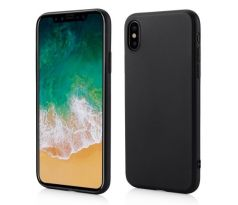 Ultra Slim Matt Case iPhone XS Max - čierny
