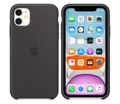 iPhone 11 Silicone Case - BLACK