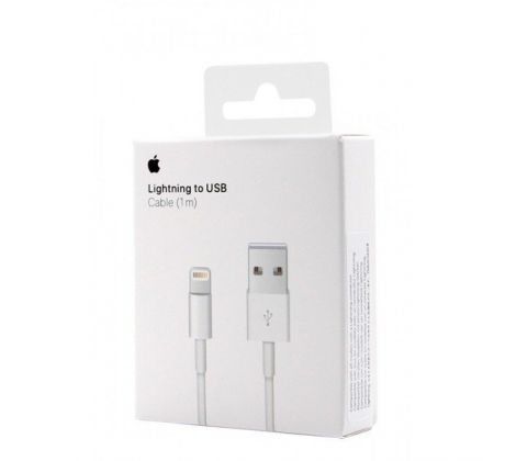 USB dátový kábel Apple iPhone Lightning MD818 ORIGINAL (EU Blister - Apple package box)
