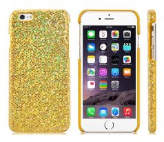 Flashing Plastic Case iPhone 6/6S (Golden)