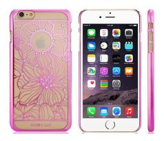 Decorated Plastic Case iPhone 6 Plus/6S Plus (Pink)