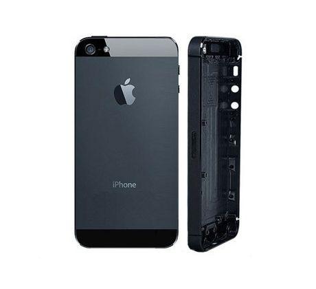 Akcia Apple iPhone 5 zadný kryt - čierny e8cf3aaffe3